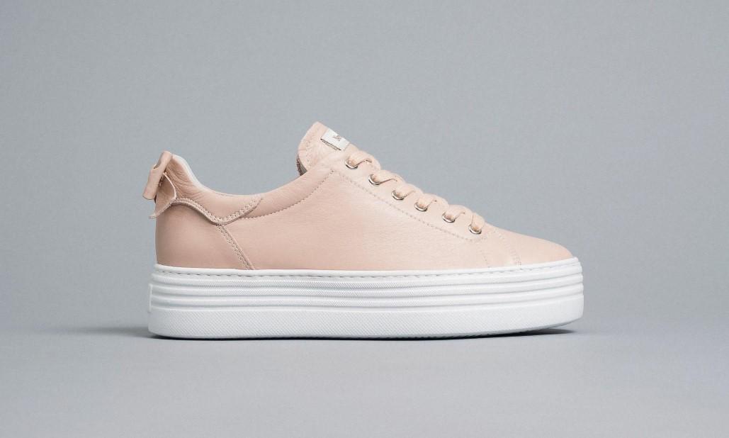 Sneakers Donna in Pelle Nero giardini Nero Giardini   Sneakers   E010700D631