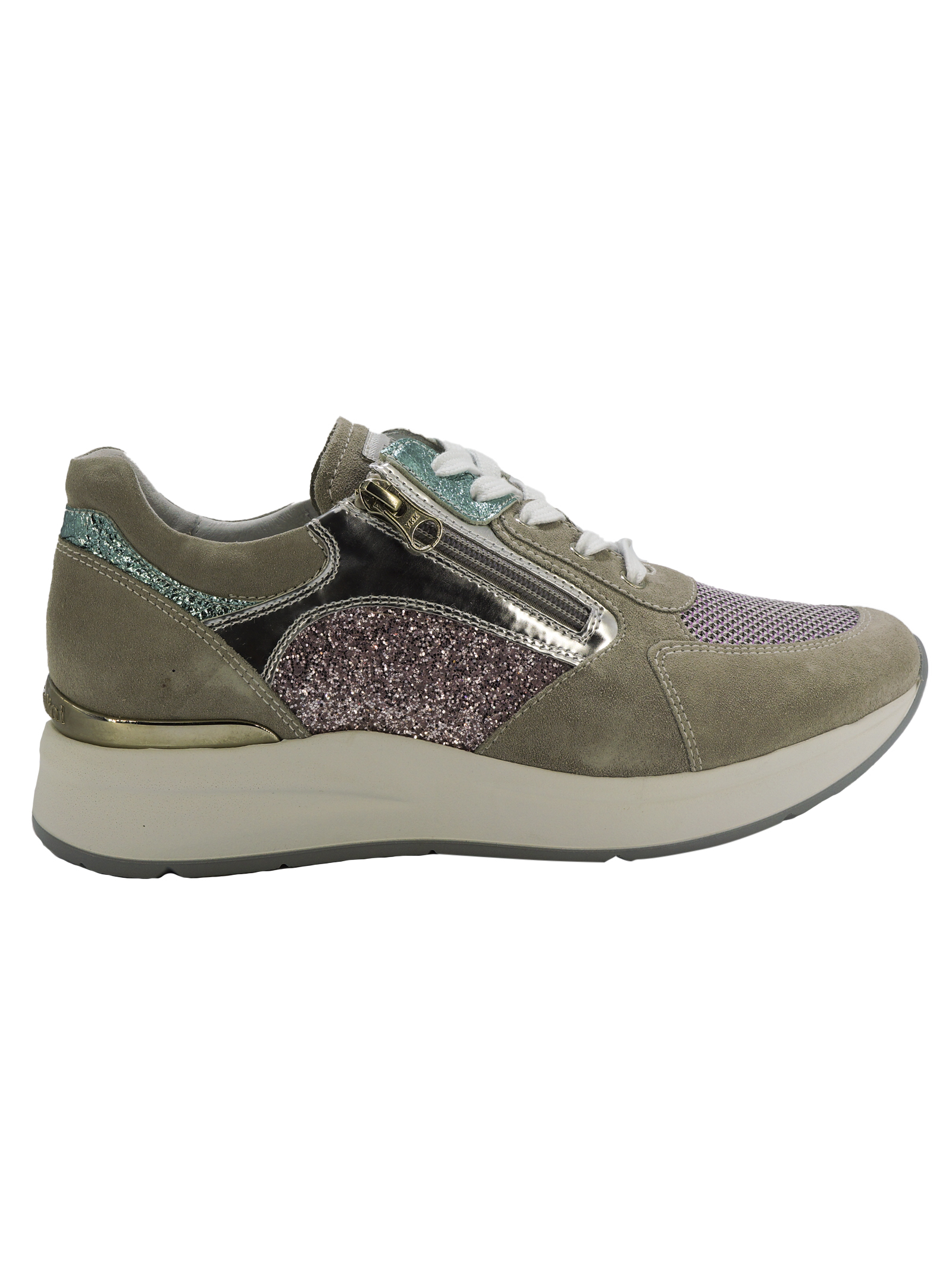 Sneakers Donna in Pelle Nero Giardini Nero Giardini | Sneakers | E010500D112