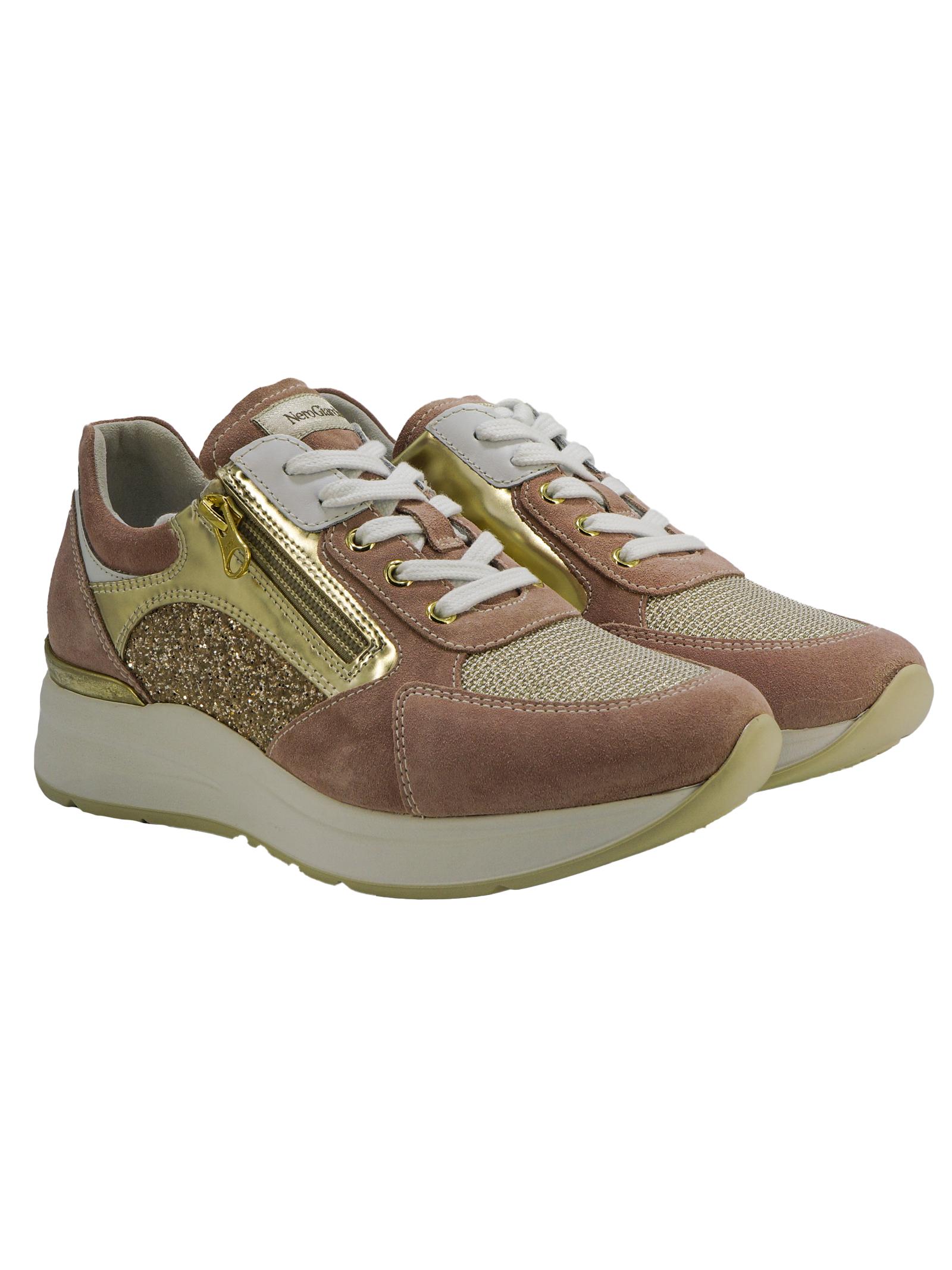 Sneakers Donna in Pelle Nero Giardini Nero Giardini | Sneakers | E010500D429