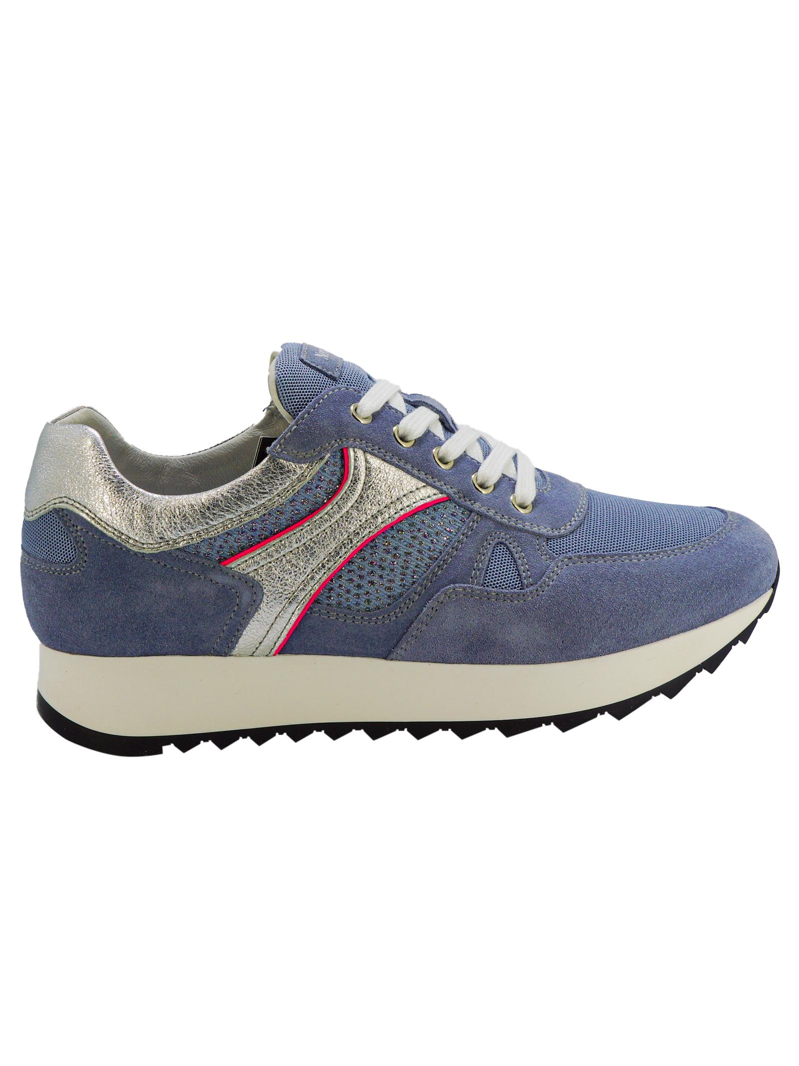 Sneakers Donna in Pelle Nero Giardini Nero Giardini   Sneakers   E010523D239
