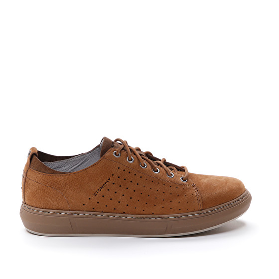 Sneakers Uomo in Pelle Stonefly Stonefly   Sneakers   213768TABACCO