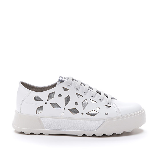 Sneakers Donna in Pelle Stonefly Stonefly   Sneakers   213826BIANCO