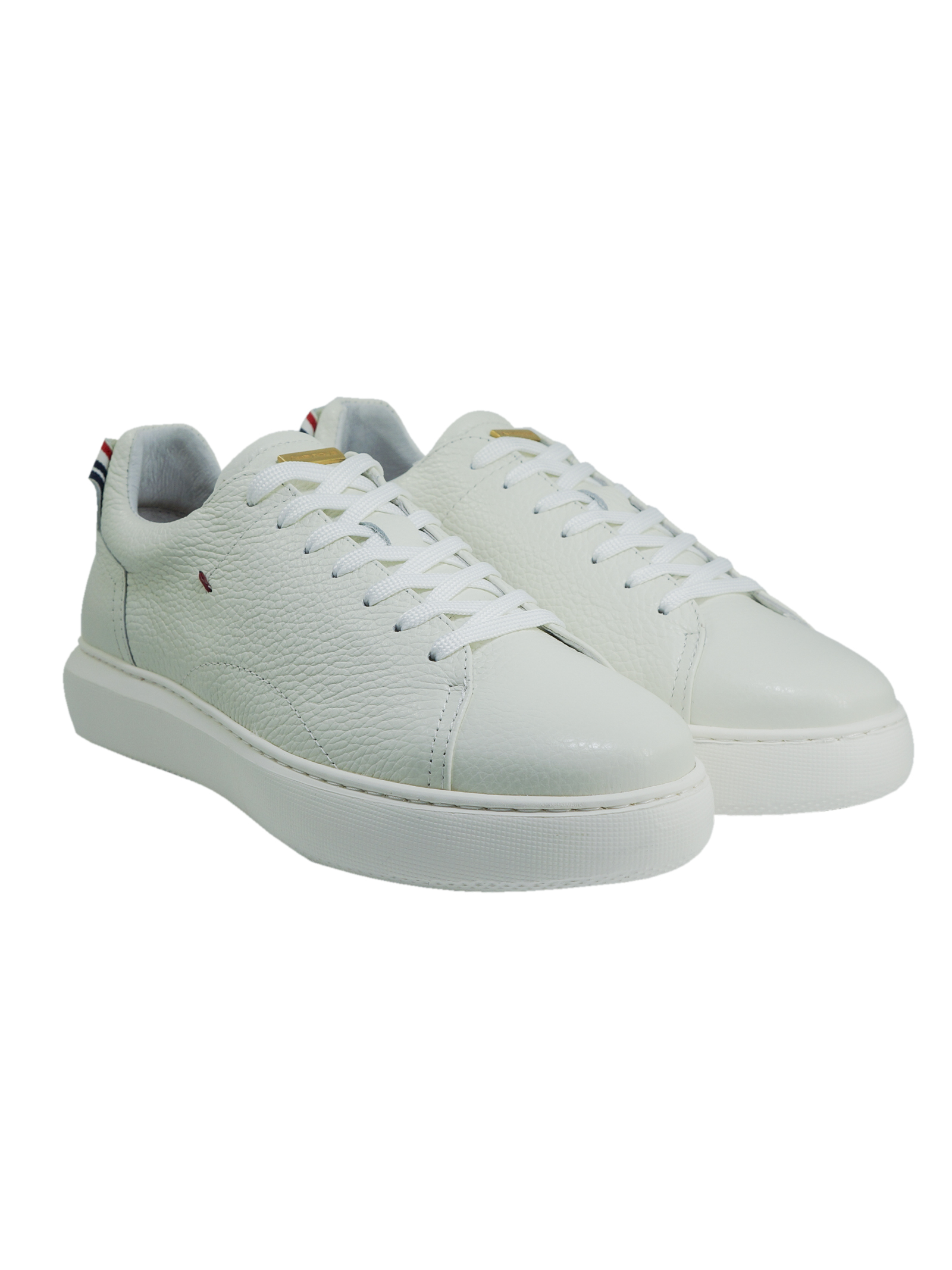 Sneakers Uomo in Pelle Ambitious Ambitious | Sneakers | 10443WHITE