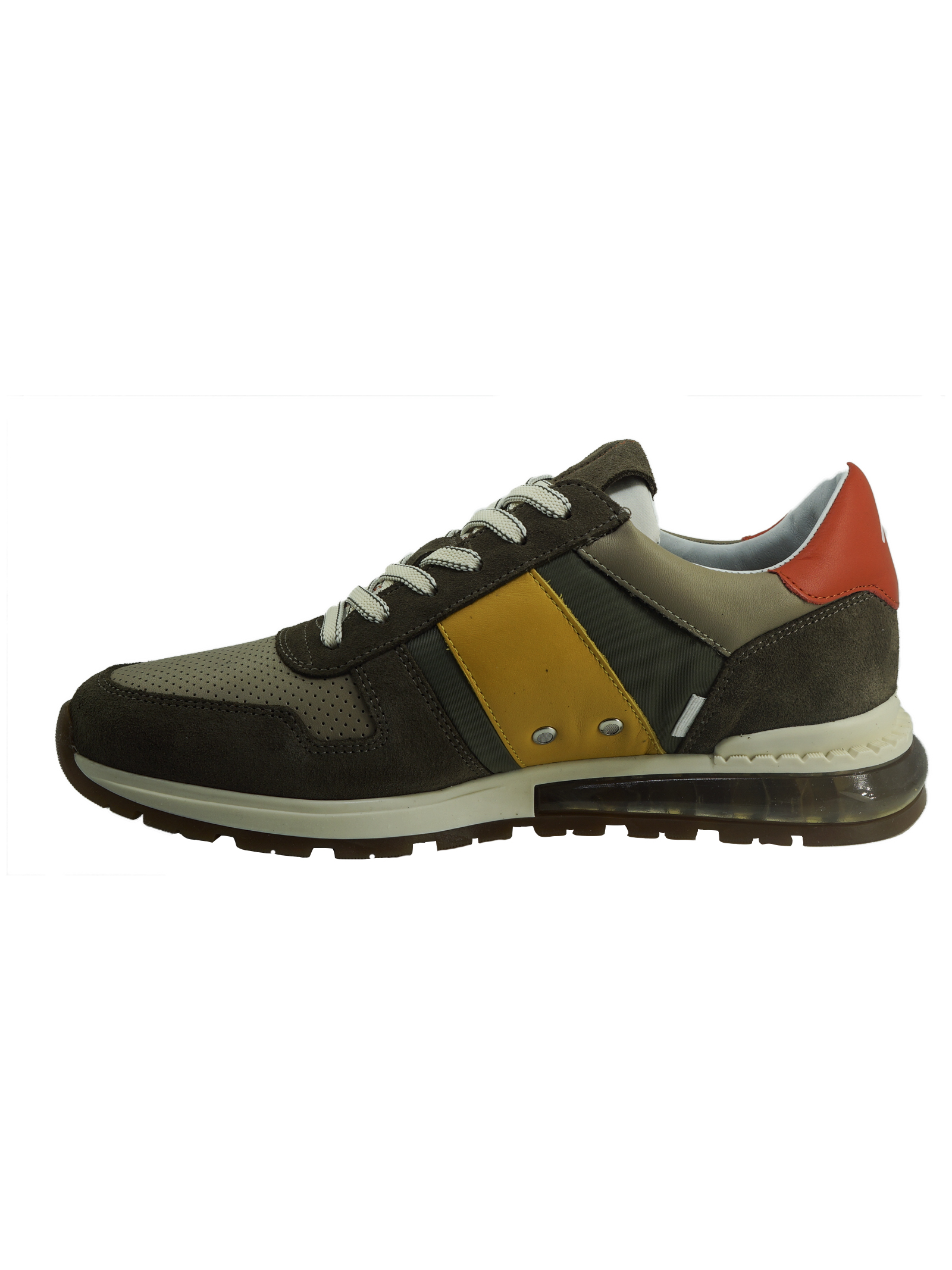 Sneakers Uomo in Pelle Ambitious Ambitious | Sneakers | 11469TAUPE