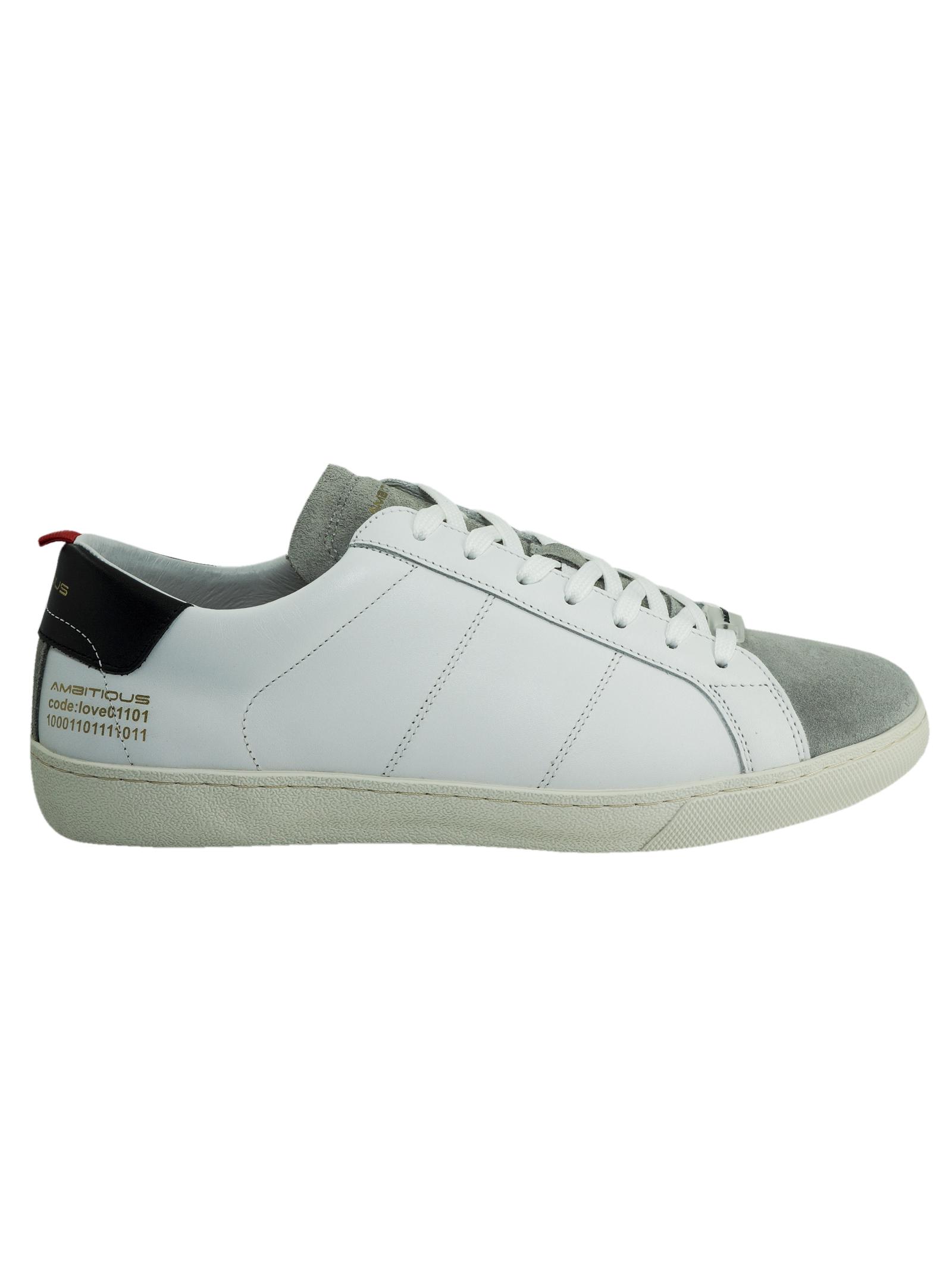 Sneakers da Uomo Ambitious Ambitious | Sneakers | 8102GREYWHITE