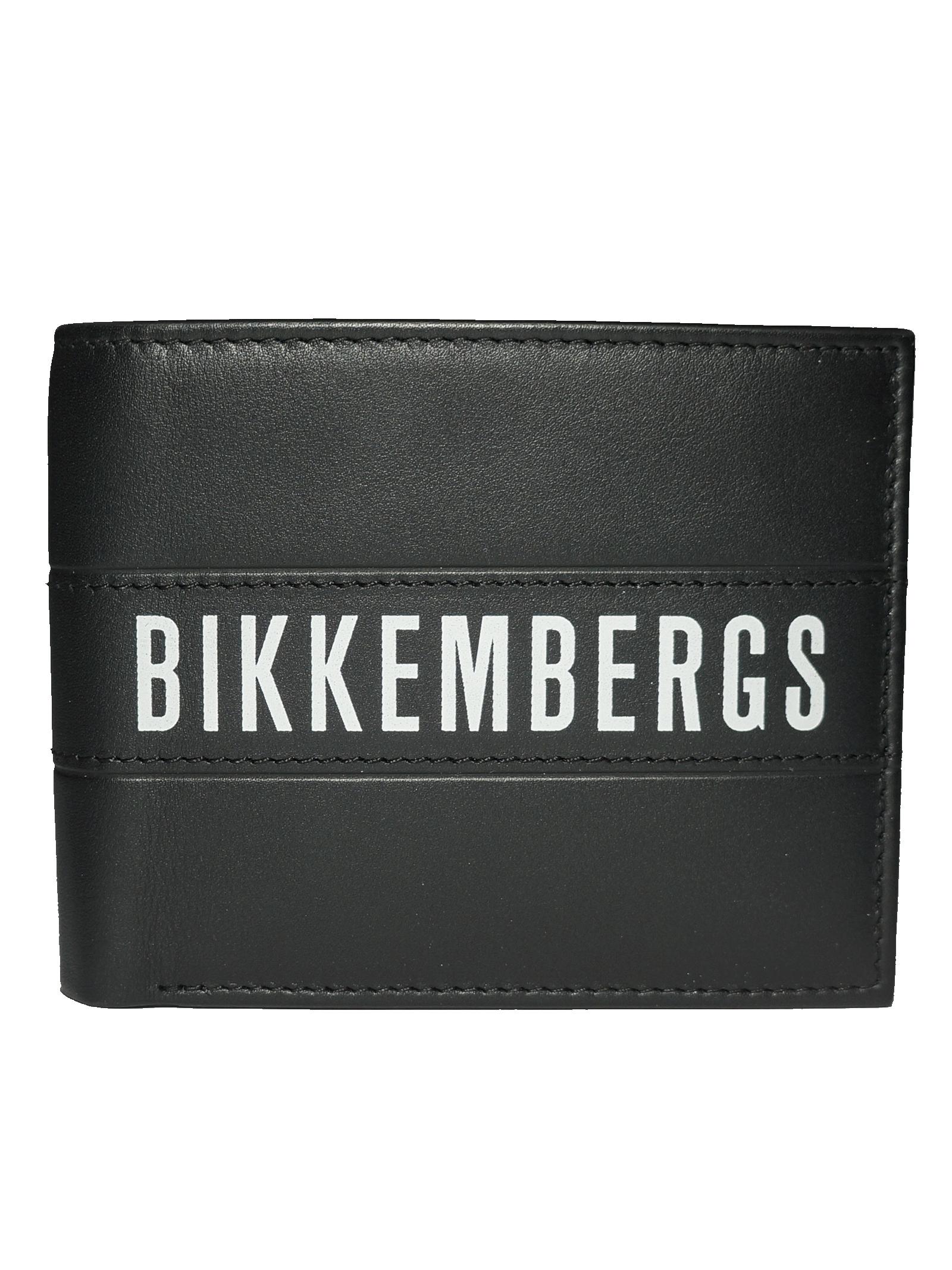 Portafogli Uomo in Pelle Bikkembergs BIKKEMBERGS | Portafogli | E2BPME1I3053D38LABELWALLET305