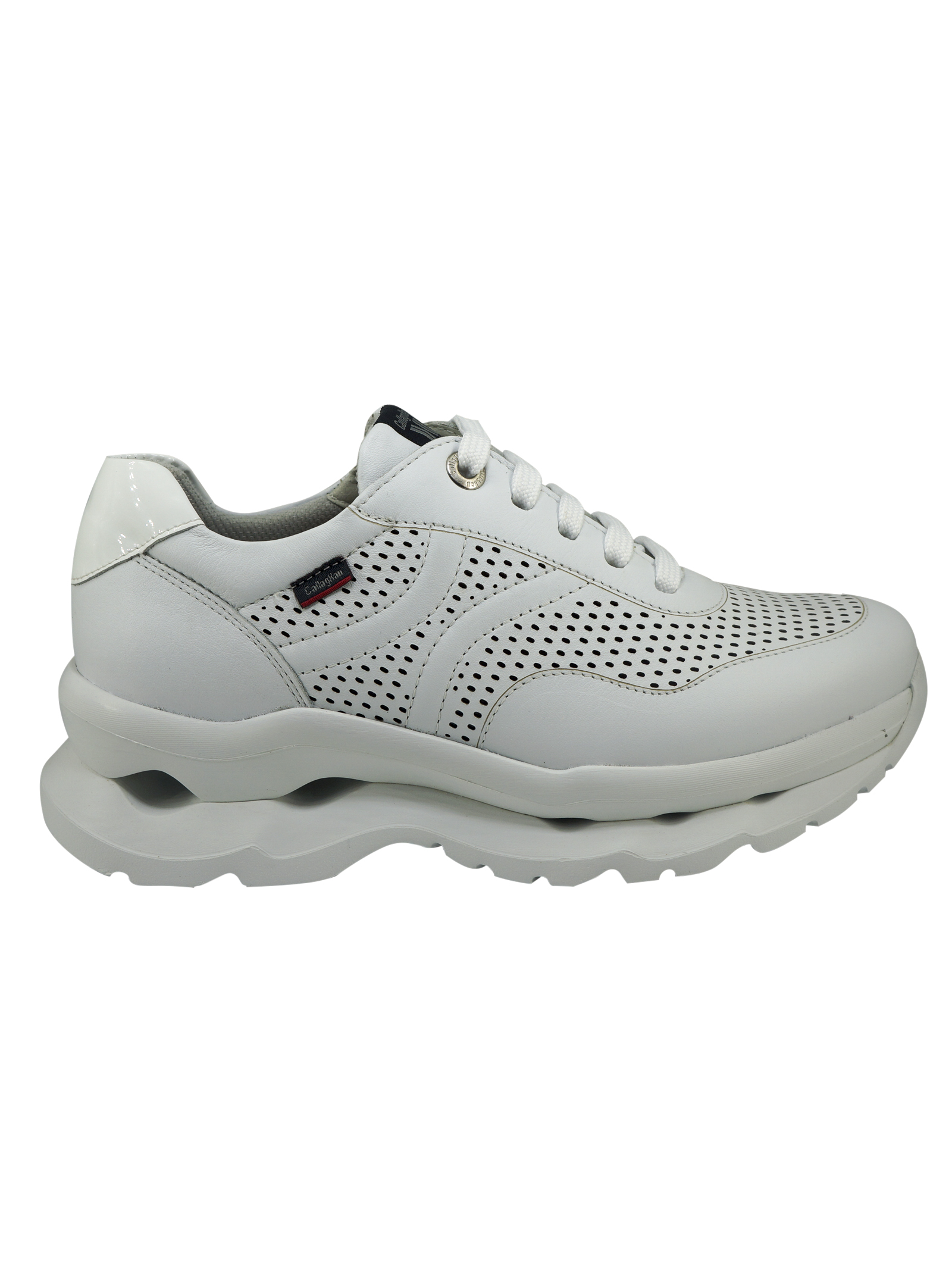 Sneakers Donna in Pelle Callaghan Callaghan | Sneakers | 44100BIANCO