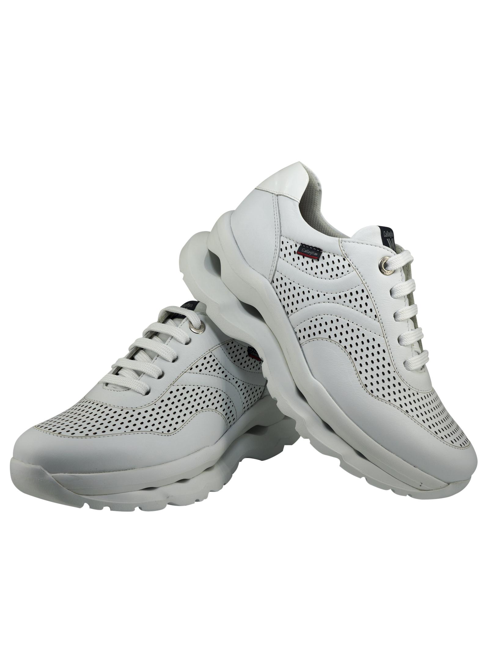 Sneakers Donna in Pelle Callaghan Callaghan   Sneakers   44100BIANCO