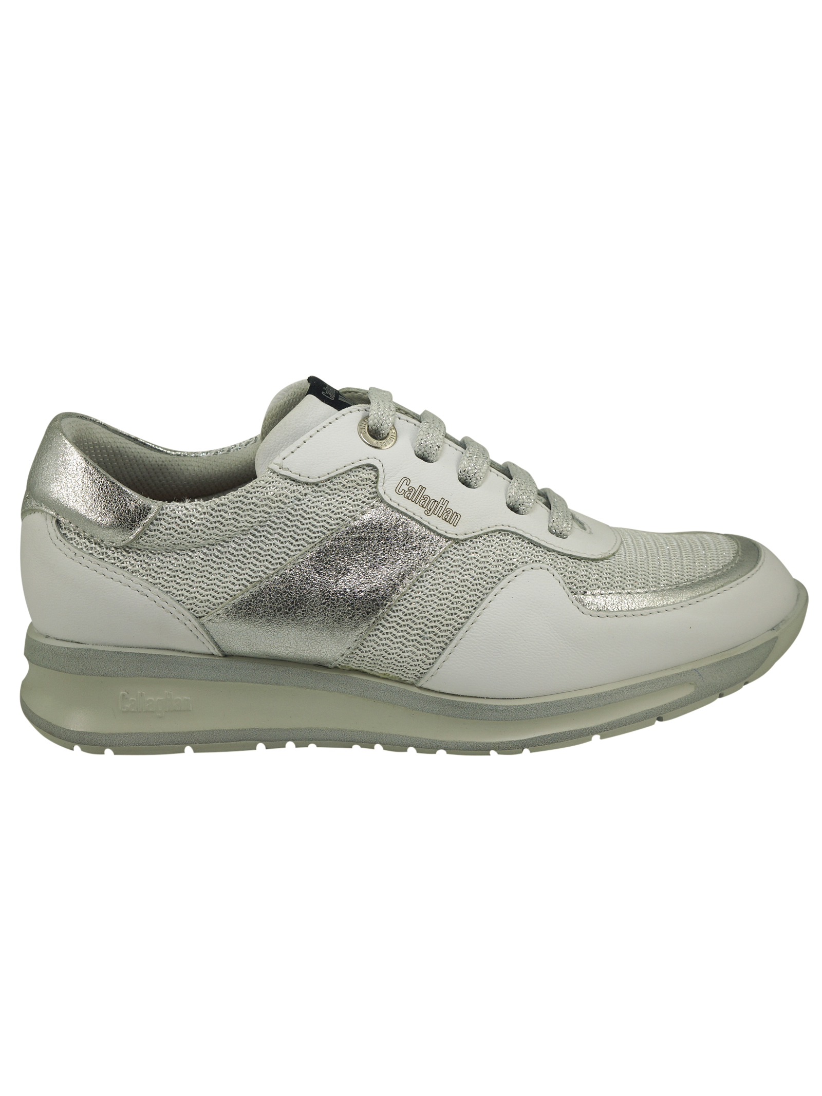 Sneakers Donna in Pelle Callaghan Callaghan | Sneakers | 87199ARGENTO