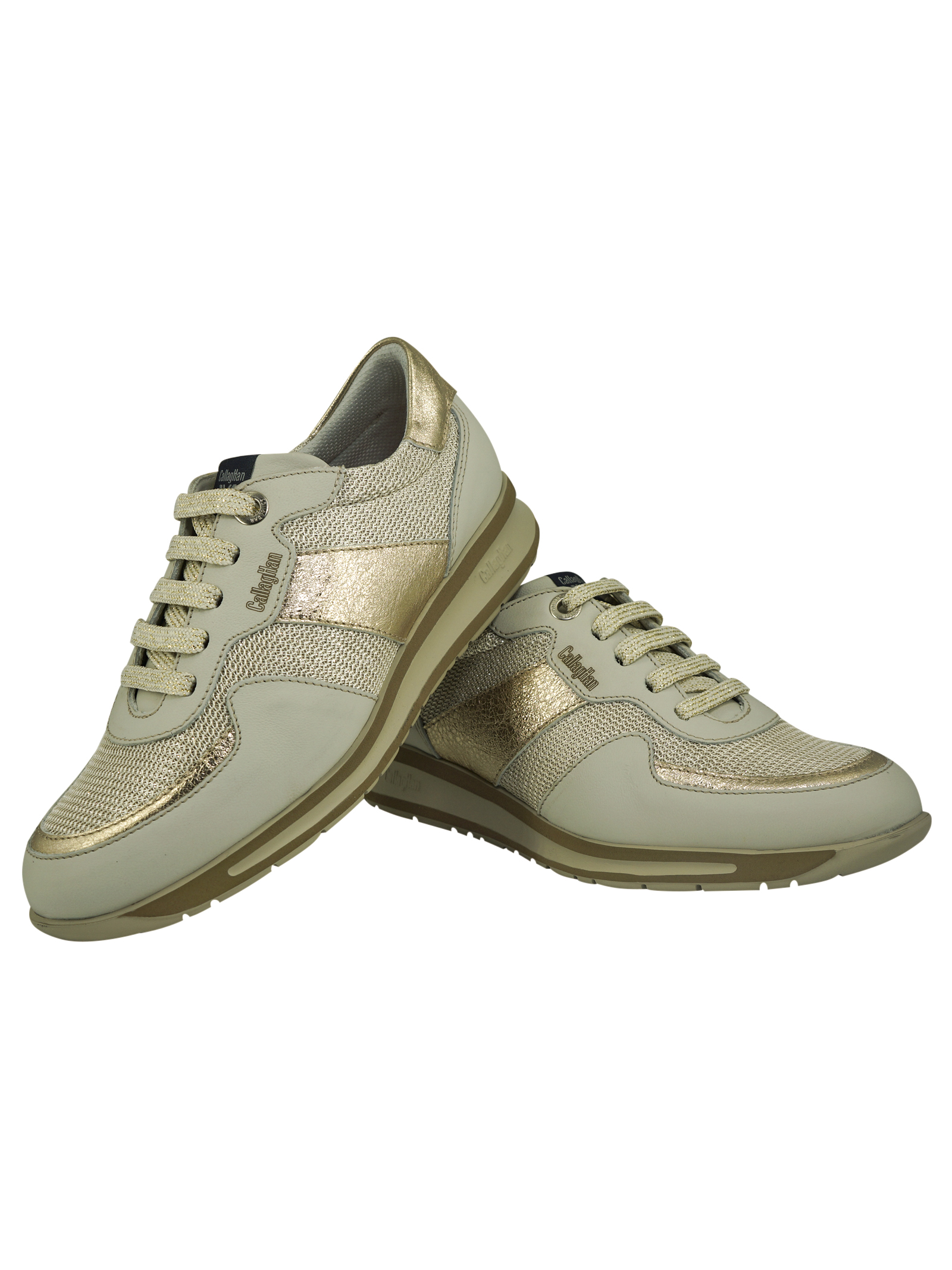 Sneakers Donna in Pelle Callaghan Callaghan | Sneakers | 87199PLATINO