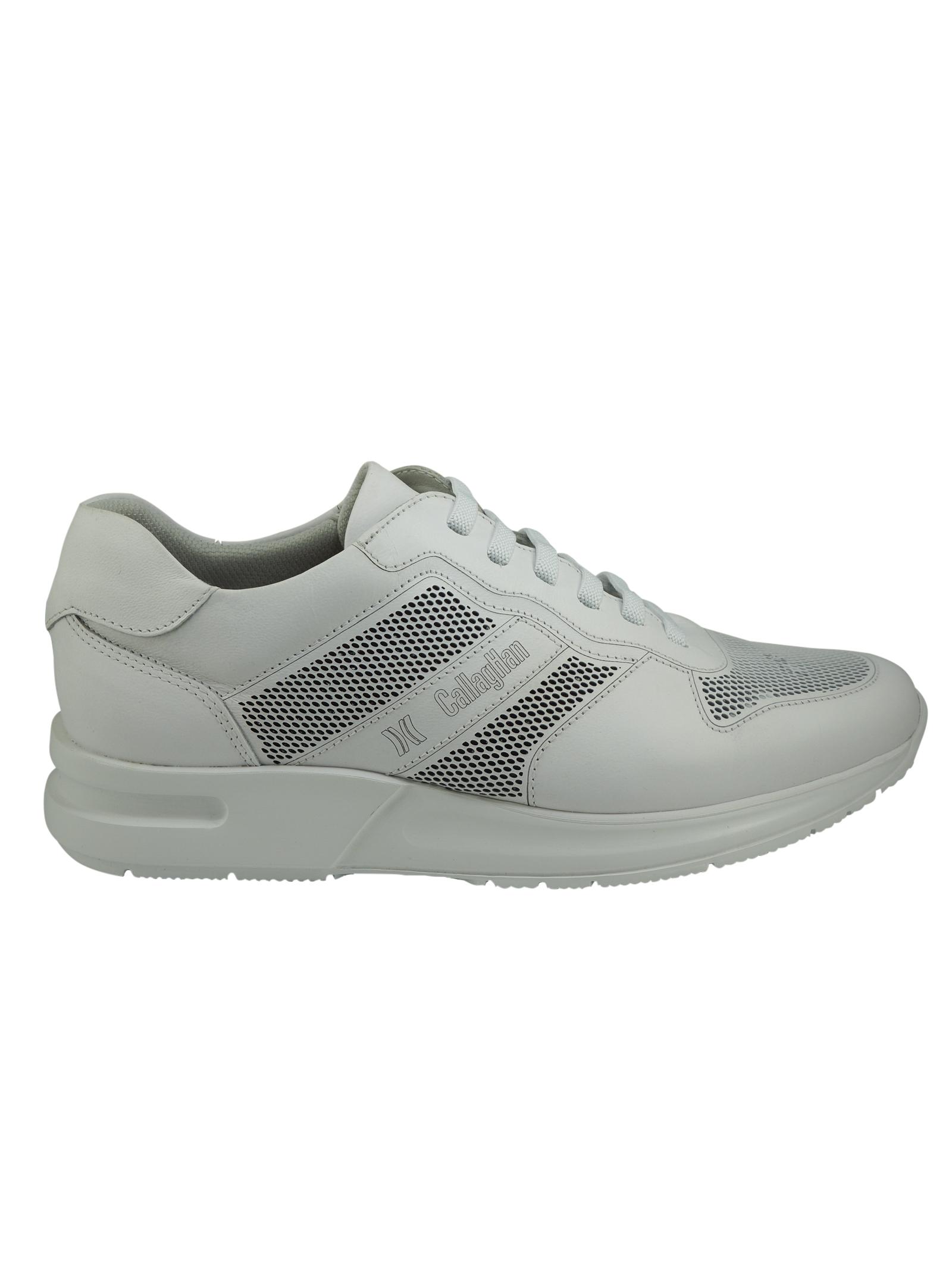 Sneakers da Uomo in Pelle Callaghan Callaghan | Sneakers | 91314BIANCO