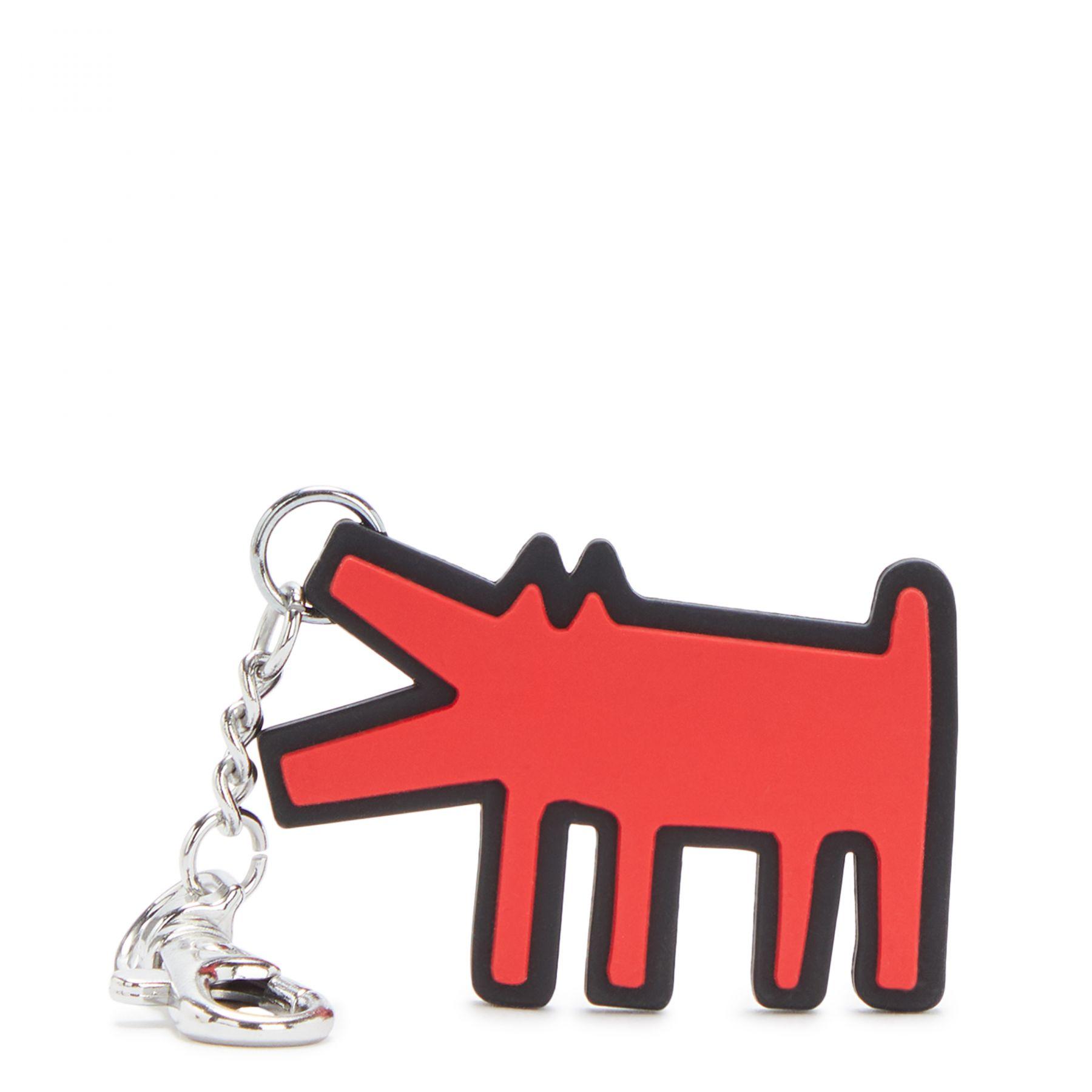 Portachiavi Keith Haring Dog Kipling Kipling   Portachiavi   DOGKHHARING