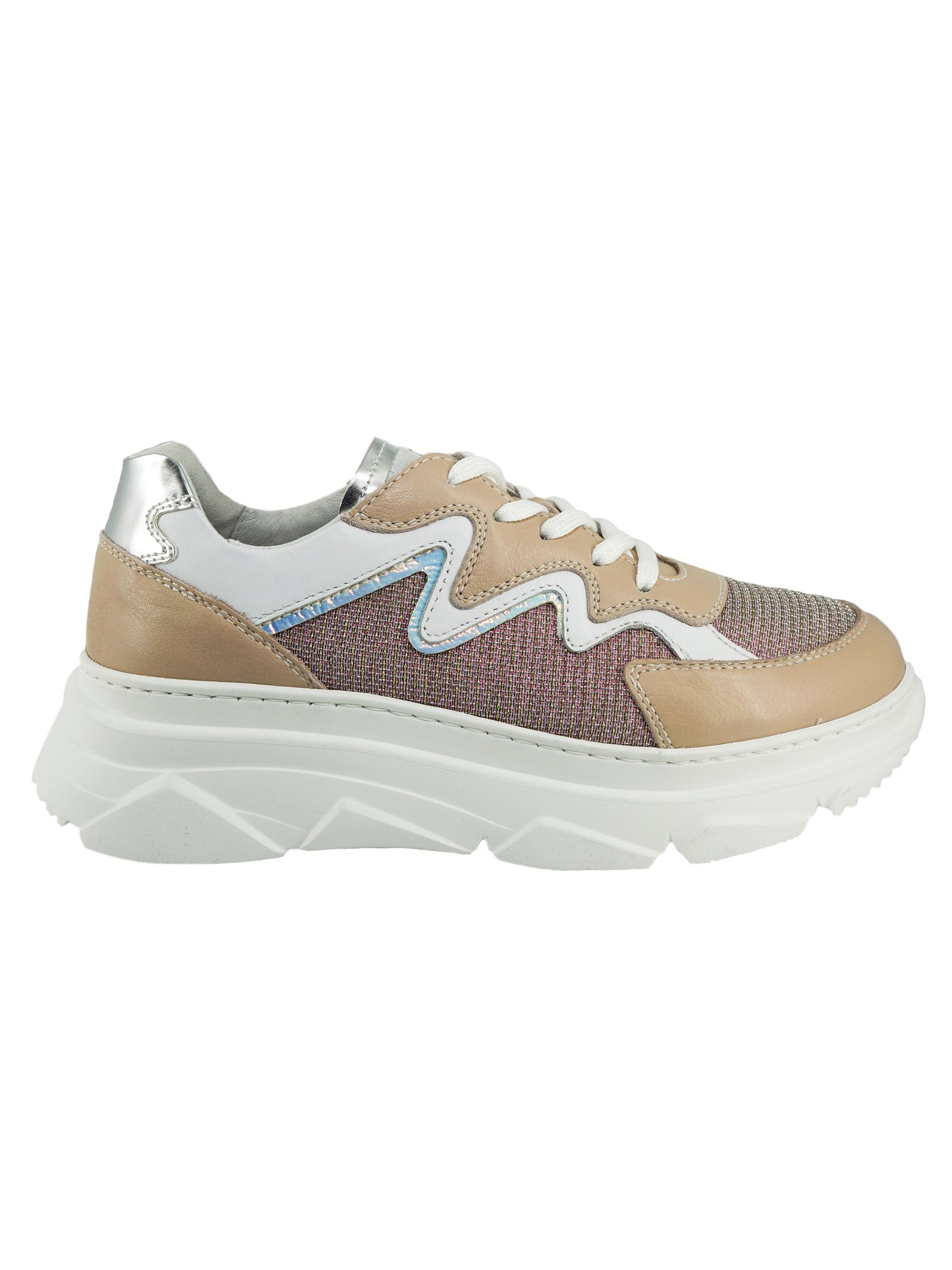Sneaker Donna in pelle Nero Giardini Nero Giardini | Sneakers | E115310DCARNE631