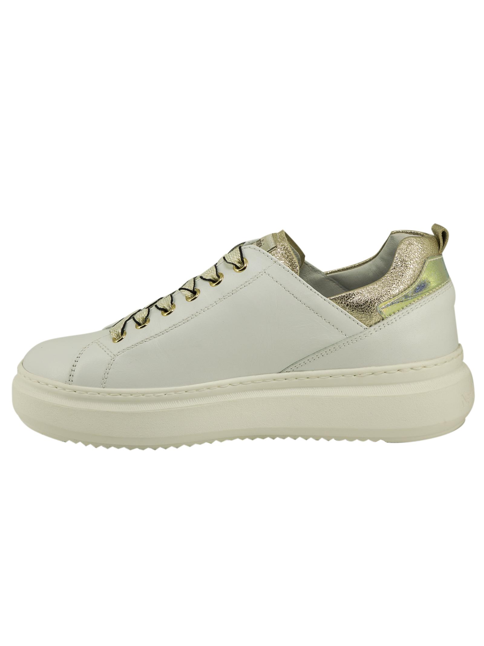 Sneakers Donna in Pelle Nero Giardini Nero Giardini | Sneakers | E115263DBIANCO707