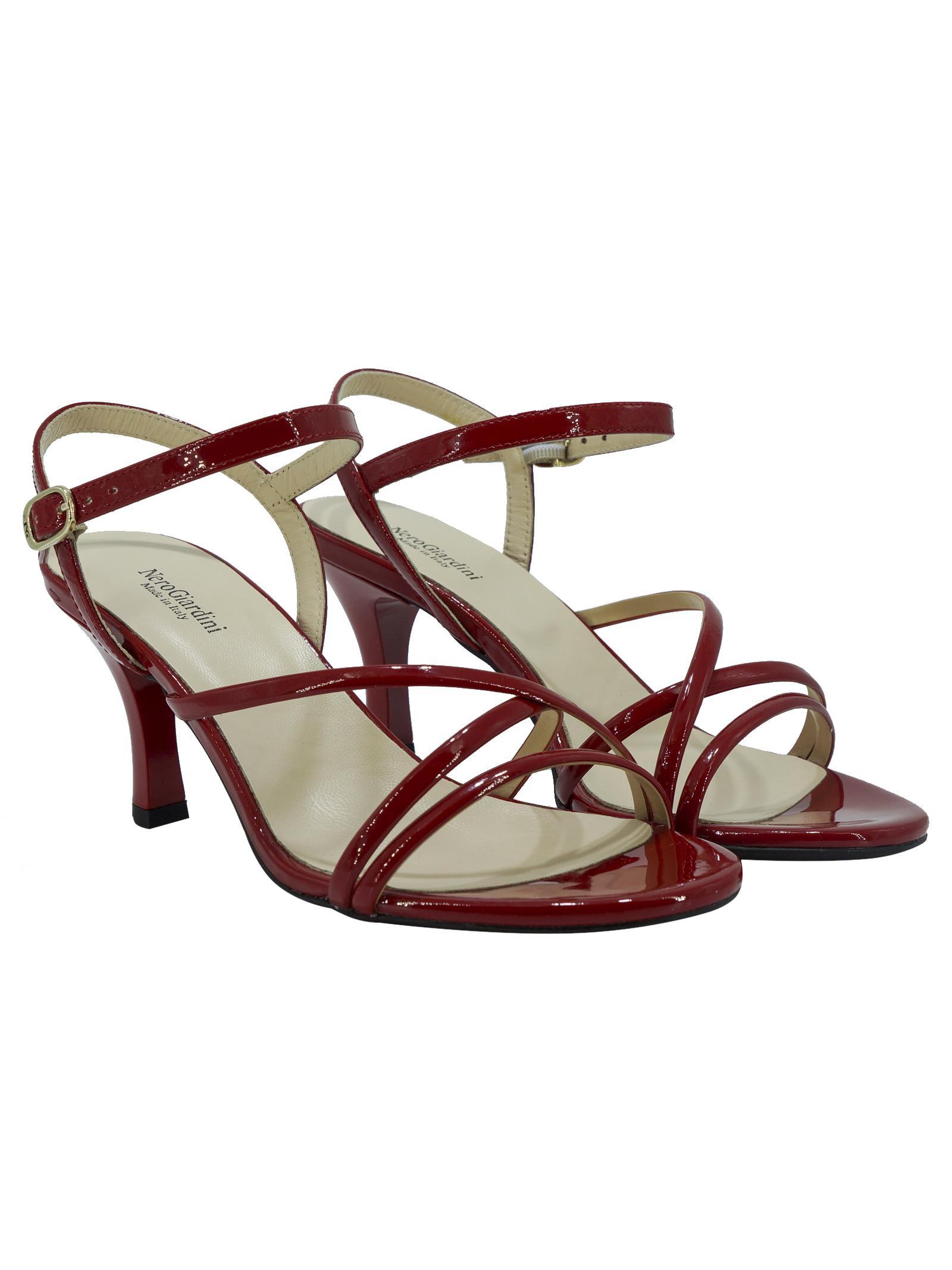 Sandali Donna in Vernice Nero Giardini Nero Giardini | Sandali | E116560DECILIEGIA624