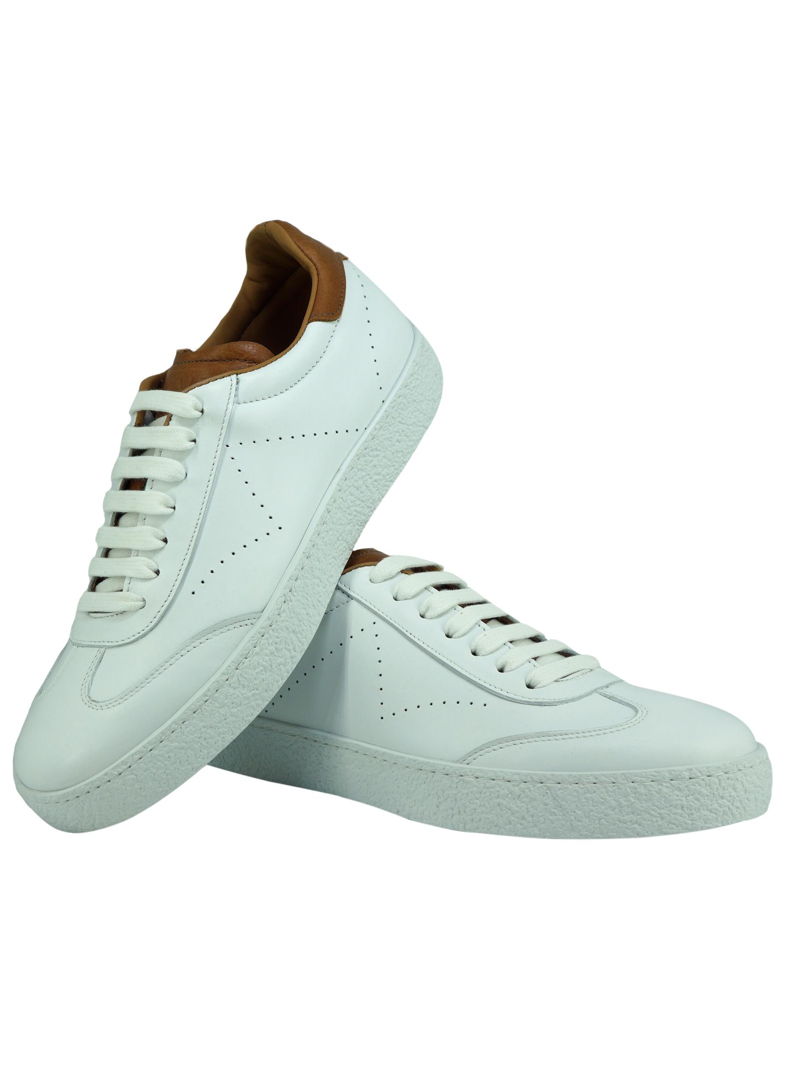 Sneakers Uomo in Pelle Rogal's Rogal's | Sneakers | PAND3MIBIANCO