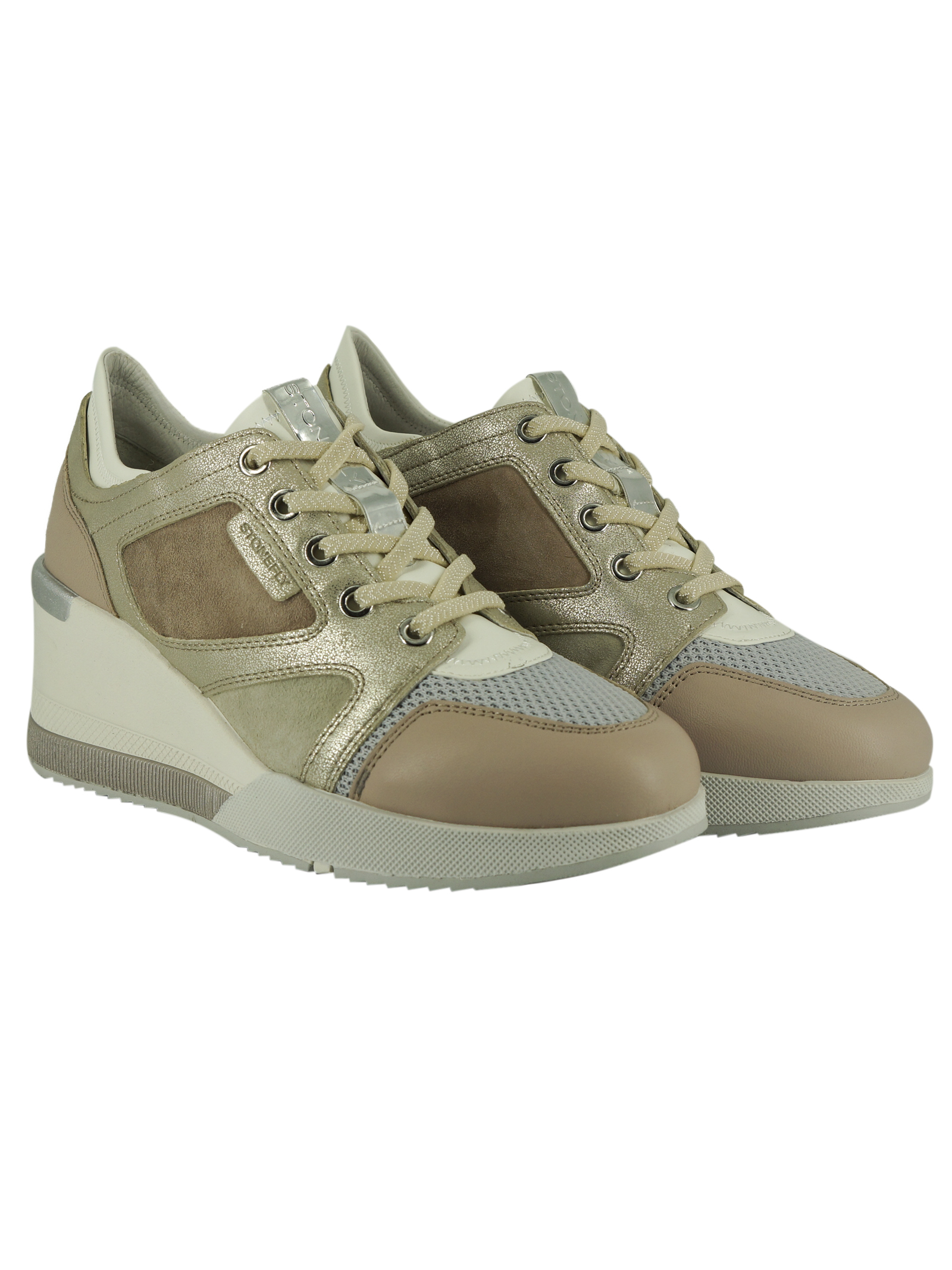 Sneakers Donna in Pelle e Camoscio Stonefly Stonefly | Sneakers | 213910ROSA