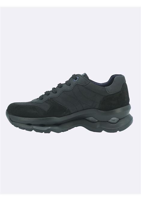Sneakers Uomo Nera con Plantare Estraibile Callaghan | Sneakers | 17818NERO