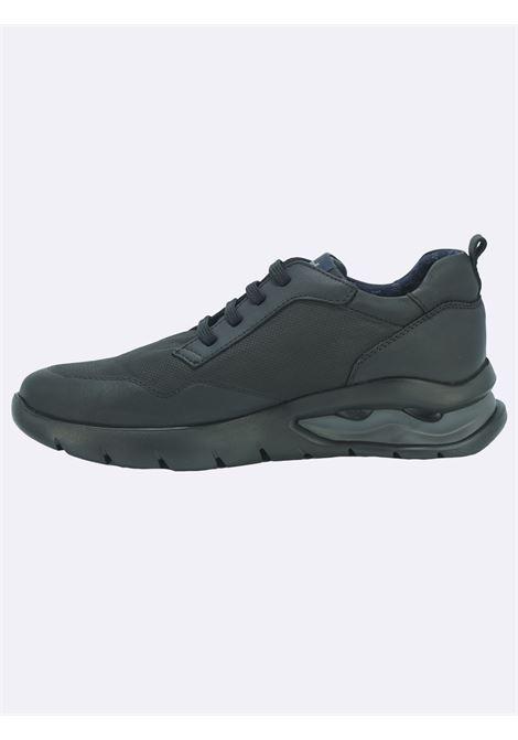 Sneakers Uomo in Pelle Nera con Plantare Estraibile Callaghan | Sneakers | 45406NERO