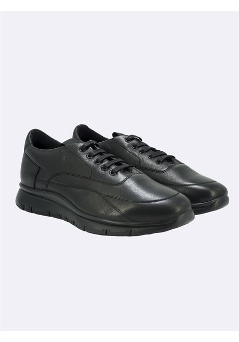 Sneakers Uomo in Pelle Nera Flex FRAU | Sneakers | 09L0GUANTONERO