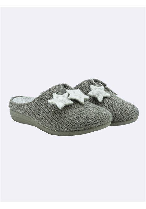 Pantofole Donna Taupe con Plantare Estraibile Grunland | Pantofole | CI1789TAUPE