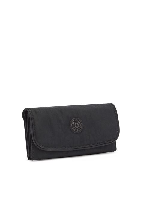 Borsellino con RFID in Tessuto Nero Kipling | Portafogli | MONEYLANDNERO