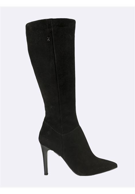 Stivali Donna Tacco a Spillo Camoscio Nero Nero Giardini | Stivali | I117243DENERO100