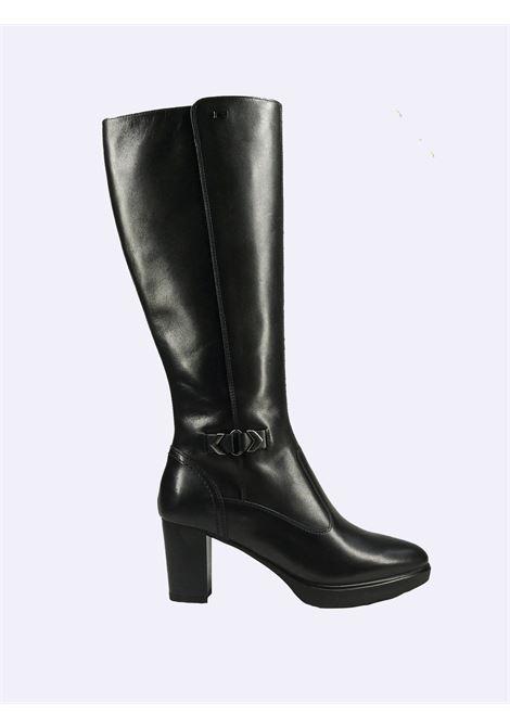 Stivali Donna in Pelle Nero Giardini Nero Giardini | Stivali | I117500D100