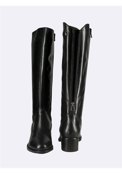 Stivali Donna in Pelle Nera Nero Giardini | Stivali | I117561DNERO100