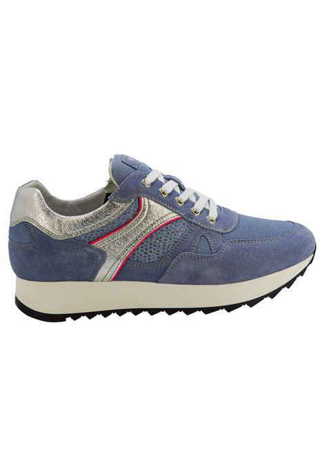Sneakers Donna in Pelle Nero Giardini Nero Giardini | Sneakers | E010523D239