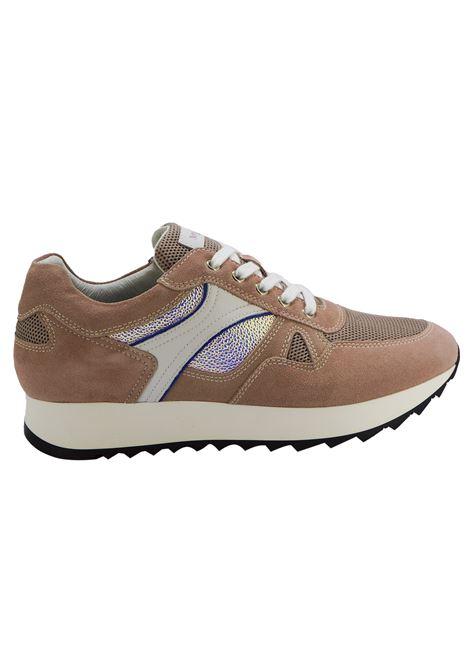 Sneakers Donna in Pelle Nero Giardini Nero Giardini | Sneakers | E010524D429