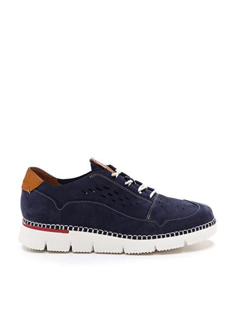Sneakers Uomo in Nabuk Blu Stonefly Stonefly | Sneakers | 213935BLUE