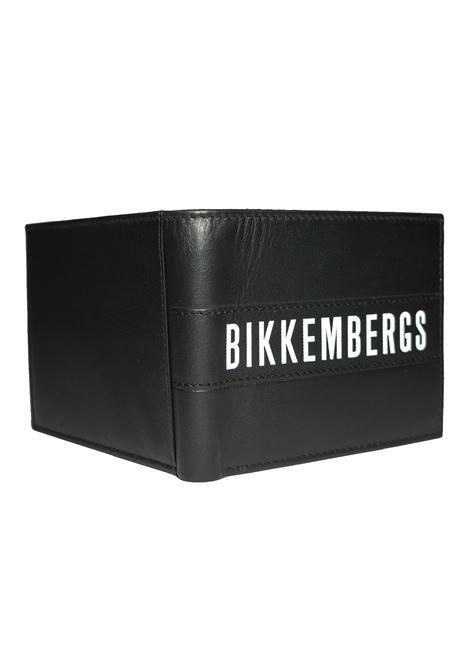 Portafogli Uomo in Pelle Bikkembergs BIKKEMBERGS | Portafogli | E2BPME1I3043D38LABELWALLET304
