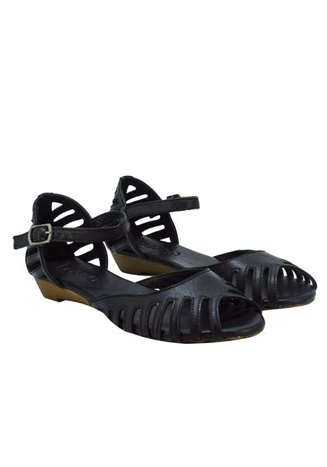 Sandali Donna Mary Jane in Pelle Bueno Bueno | Sandali | N3800BLACK