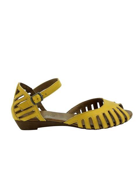 Sandali Donna Mary Jane in Pelle Bueno Bueno | Sandali | N3800YELLOW