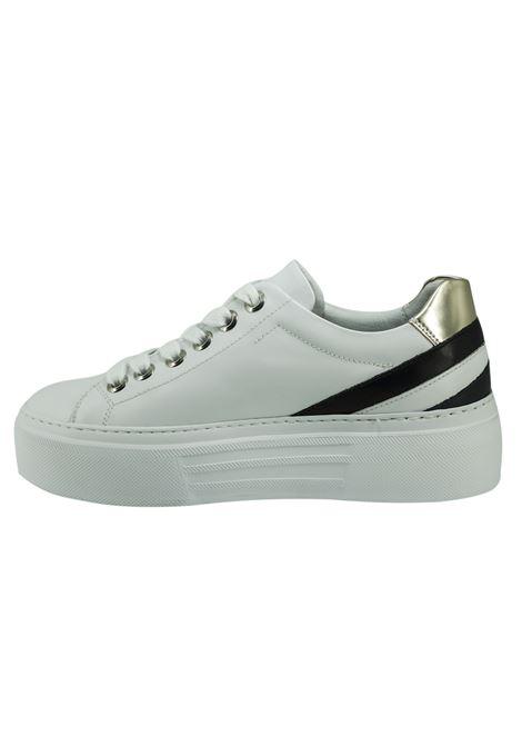 Sneaker Donna in Pelle Nero Giardini Nero Giardini | Sneakers | E010880DBIANCO707