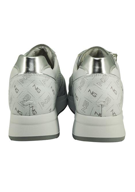 Sneakers Donna in Pelle Nero Giardini Nero Giardini | Sneakers | E115140DBIANCO707