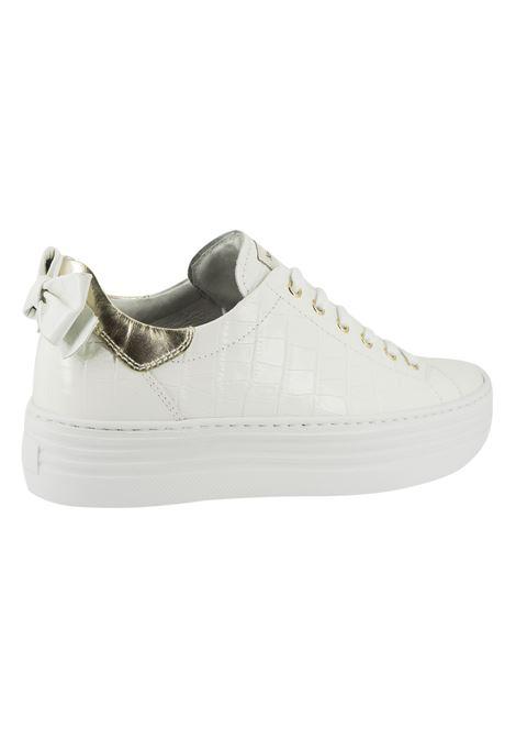 Sneakers Donna in Pelle Nero Giardini Nero Giardini | Sneakers | E115290DBIANCO707
