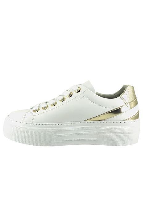 Sneakers Donna in Pelle Nero Giardini Nero Giardini | Sneakers | E115303DBIANCO707