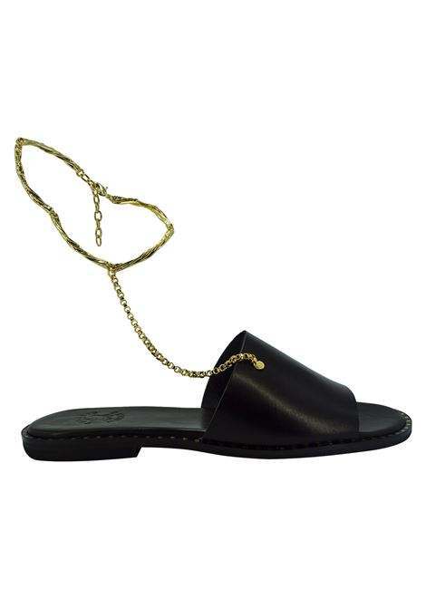 Sandali Donna in Pelle Tsakiris Mallas TSAKIRIS MALLAS | Sandali | 610BLACK