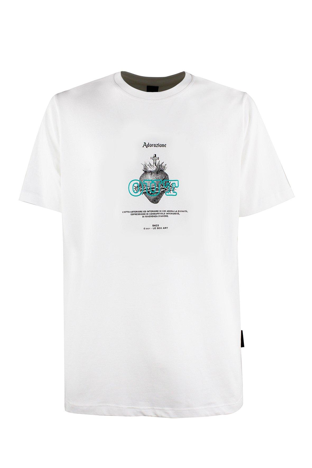 T-Shirt BLACK CIRCUS   T-shirt   TSU7087EBIANCO