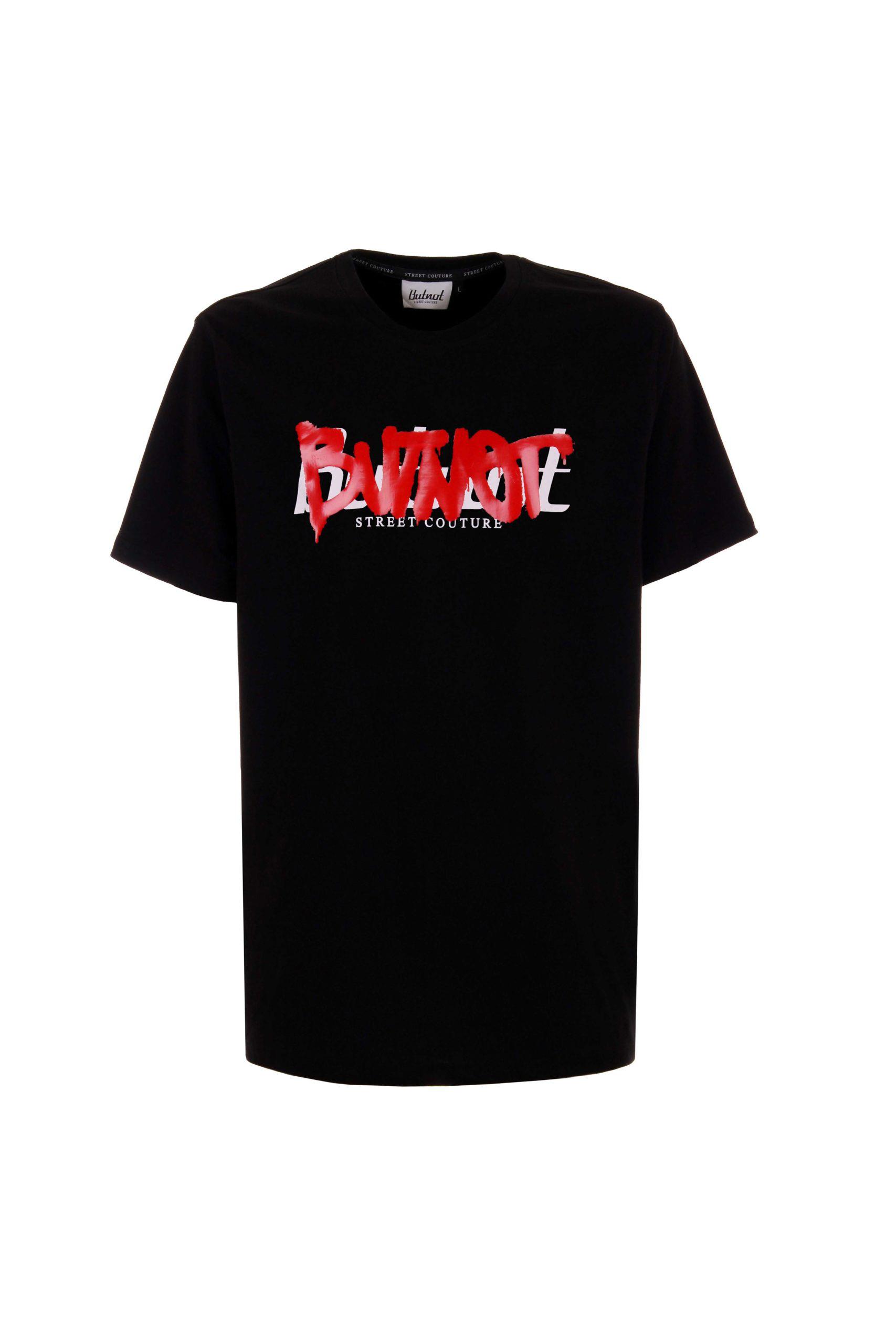T-Shirt BUT NOT | T-shirt | U901-267NERO