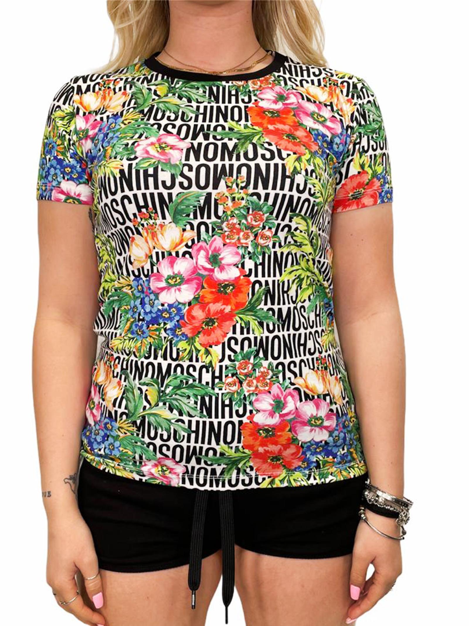 T-Shirt MOSCHINO | T-shirt | A192190221001BIANCO