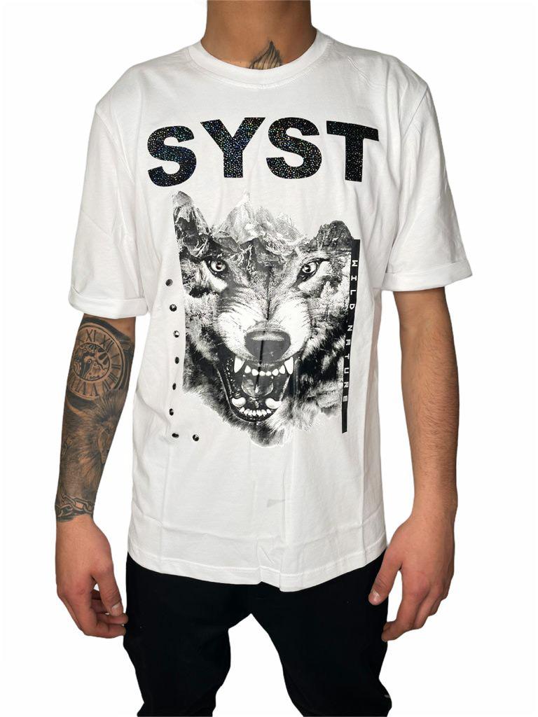 T-Shirt STAY STREET | T-shirt | T325BIANCO