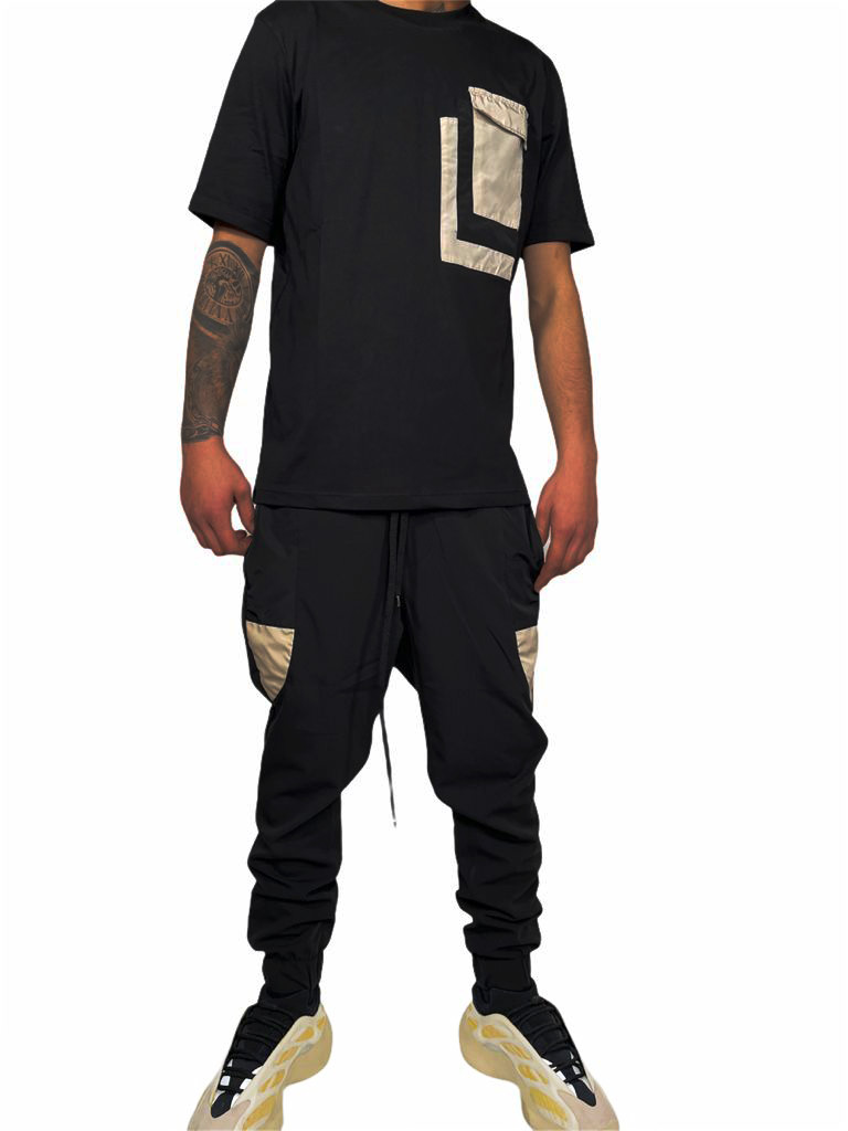 T-Shirt STAY STREET | T-shirt | T406NERO
