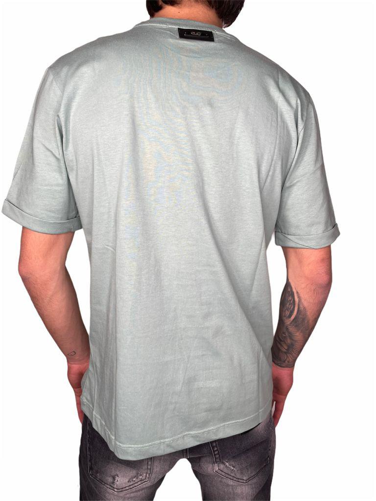 T-Shirt STAY STREET   T-shirt   T900VERDE TIFFANY