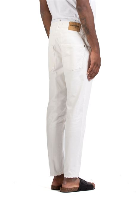 Jeans I'M BRIAN | Jeans | ALANCL1608BIANCO
