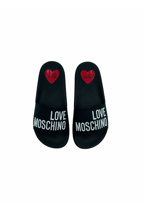 Ciabatta LOVE MOSCHINO | Ciabatta | JA28052G1CNERO