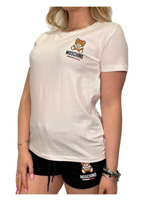 T-Shirt MOSCHINO | T-shirt | A191290210001BIANCO