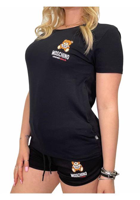 T-Shirt MOSCHINO | T-shirt | A191290210555NERO